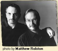 Donald Fagen (l) and Walter Becker aged well, as did their music.